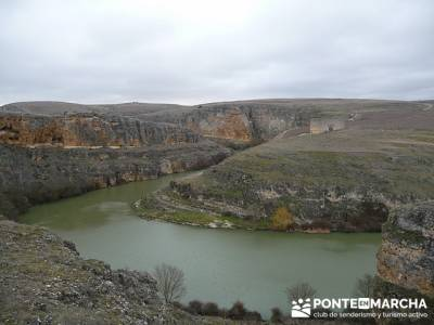 Hoces del Río Duratón  -- senderismo joven madrid; senderismo cercedilla